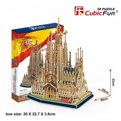 Sagrada Família Puzle 3D