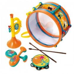 Set Tambor amb instruments musicals