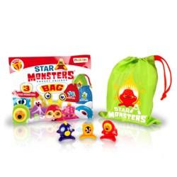 Star Monsters Sèrie 1 - Pack bossa amb 3 Star