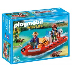 Playmobil Barca Inflable