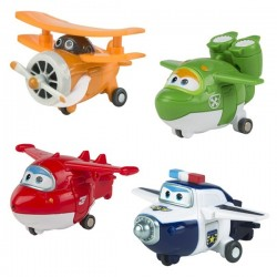 Super wings 4 figures Transformables