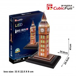 Big Ben Puzle 3D LED