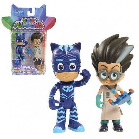 PJ Masks pack de 2 figures