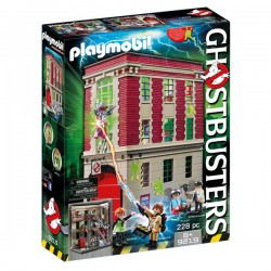 Playmobil caserna parc de bombers Ghostbusters