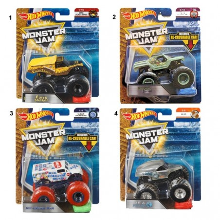 Hot Wheels vehicles Monster Jam