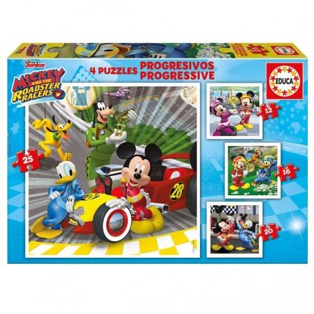 Puzle progressiu Mickey
