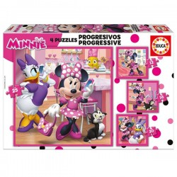 Puzle progressiu Minnie
