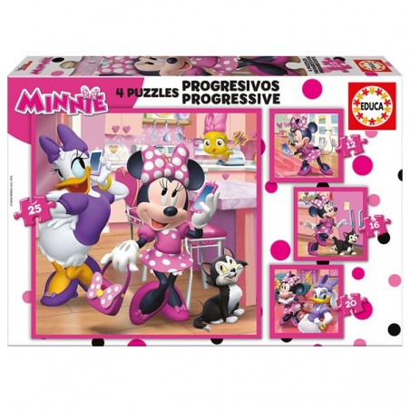 Puzle progressiu Minnie