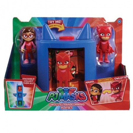 Pj Masks playset transformació