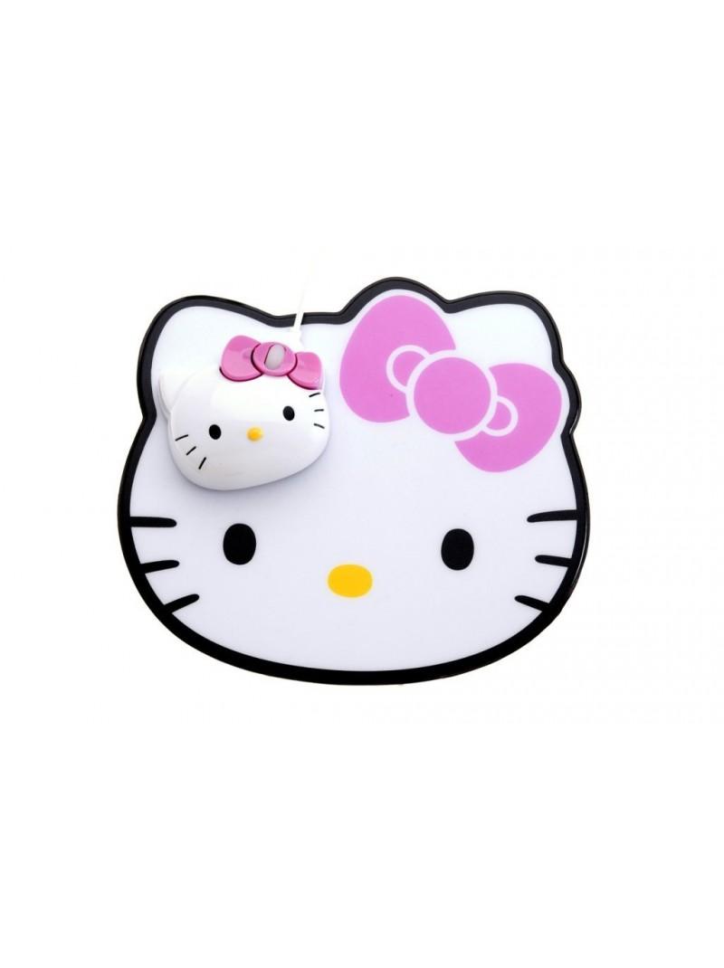 Kit ratolí òptic + estoreta Hello Kitty