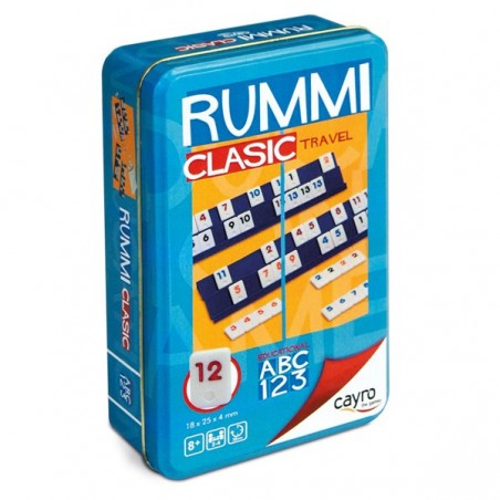 Rumi clàssic travel metall