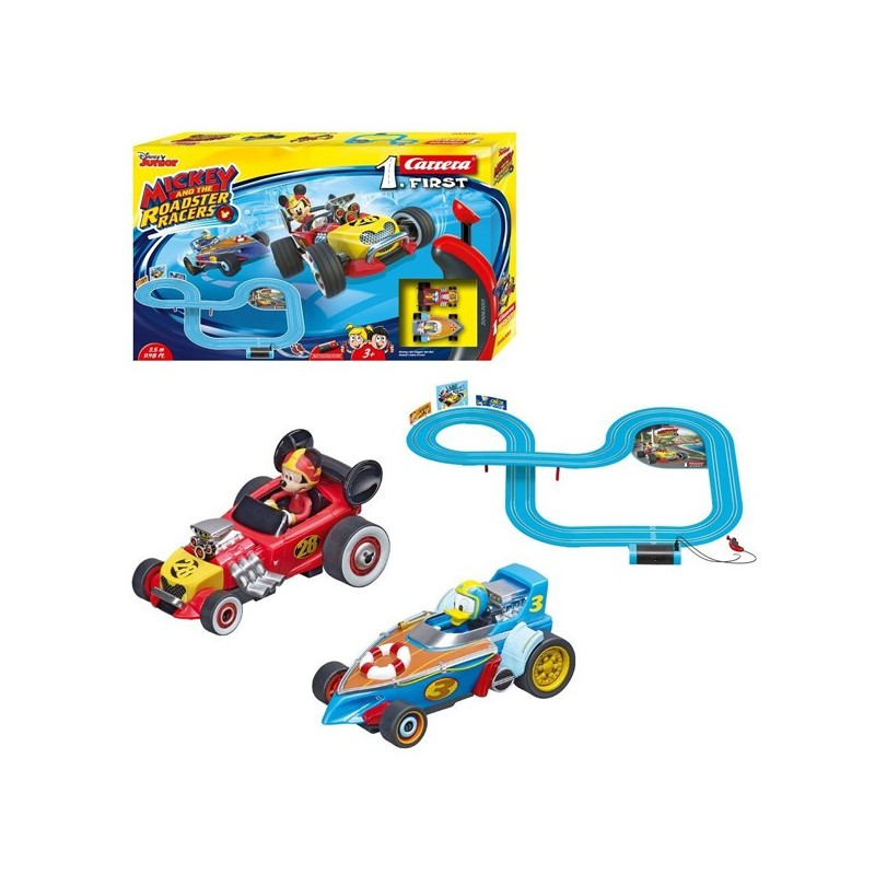 Circuit first Mickey roadster racers
