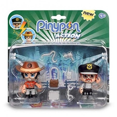 Pinypon action pac 2 figures