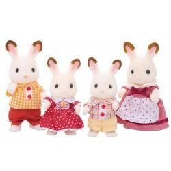 Sylvanian Families Família Conejos Chocolate