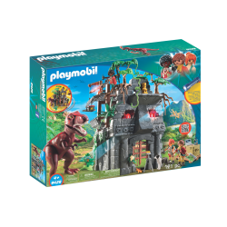PLAYMOBIL® Campament base amb T-Rex