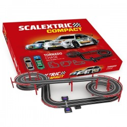 Circuito Scalextric Compact Tornado Chase