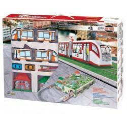 Metro City amb llum i diorama