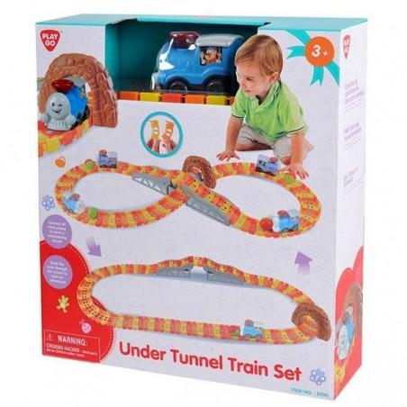 Tren infantil amb vies