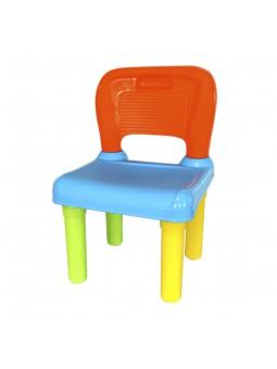 Cadira plàstic colors
