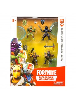 Fortnite blister 4 figures...