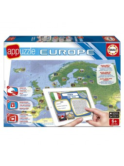 Appuzzle Europa de 150 peces