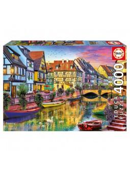 Puzle 4000 Canal de Colmar