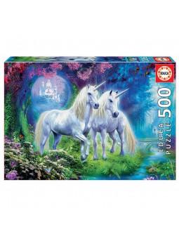 Puzle 500 Unicorns in the...