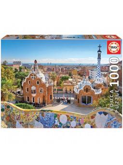 Puzle 1000 Vista de Barcelona des del parc Güell