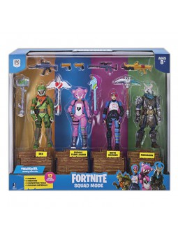 Fortnite - Pack 4 Figures Squad Mode