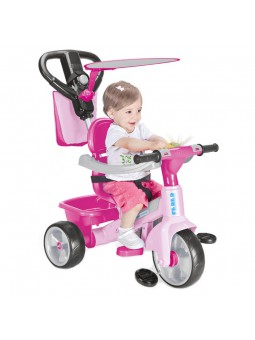 Tricicle Feber Trike Baby Plus Music rosa