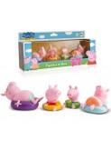 Peppa pig figures bany