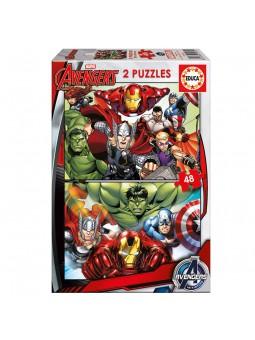 Puzle 2x48 Avengers