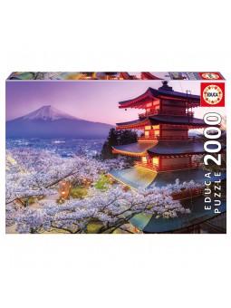 Puzle 2000 Mont Fuji Japó