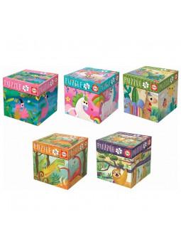 Llogarets Infantils puzle Cub 48 pcs