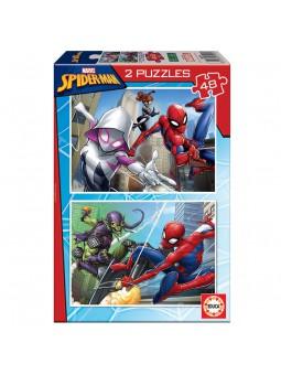 Puzle 2x48 Spiderman
