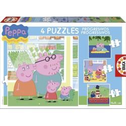 Puzle Progressiu Peppa Pig 6-9-12-16