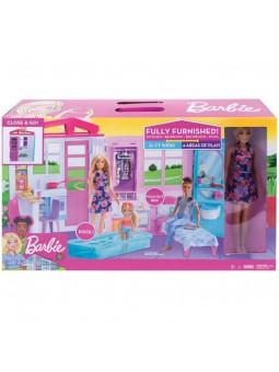 Barbie Casa portàtil amb piscina