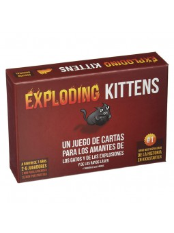 Exploding Kittens- Joc de...