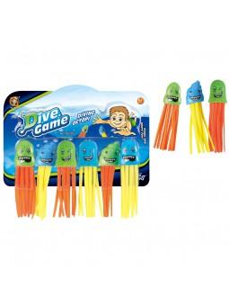 Set 6 meduses aquàtiques