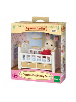 Sylvanian Families Nadó conill xocolata amb llit