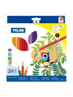 Caixa 24 llapis de colors...