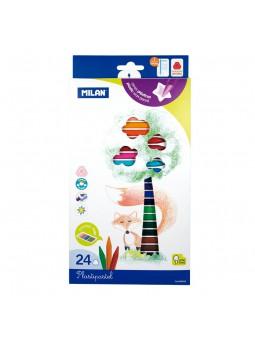 Caixa 24 Plastipastel de colors