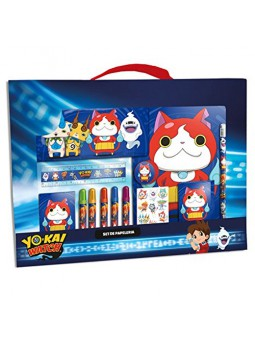 Set papereria 20 peces Yo-Kai