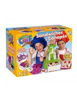 Cefachef: Sandwitxos i canapès