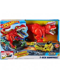 Hot Wheels® T-Rex Rampage Playset