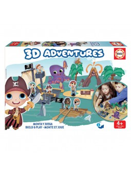 3D Adventures Pirates...