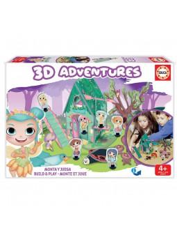 3D Adventures Fades Puzle 3D