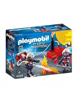 PLAYMOBIL® Bombers amb...
