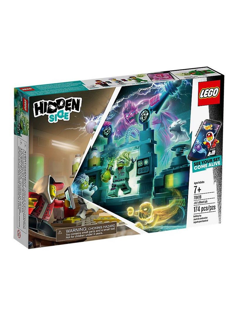 LEGO® Hidden Side Laboratori de Fantasmes de J. B.