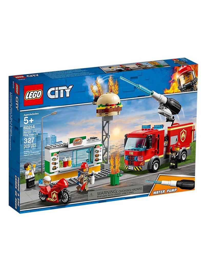 LEGO® City Rescat de l'Incendi a la Hamburgueseria